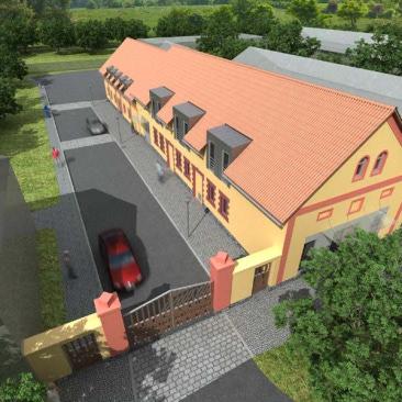 Rekonstrukce stájí na muzeum v Chotilsku