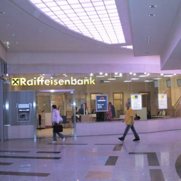 Pobočková síť  Raiffeisenbank