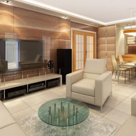 Nový interiér RD v Příbrami