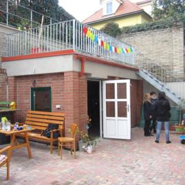 Revitalizace dvorku bytového domu v Praze 6